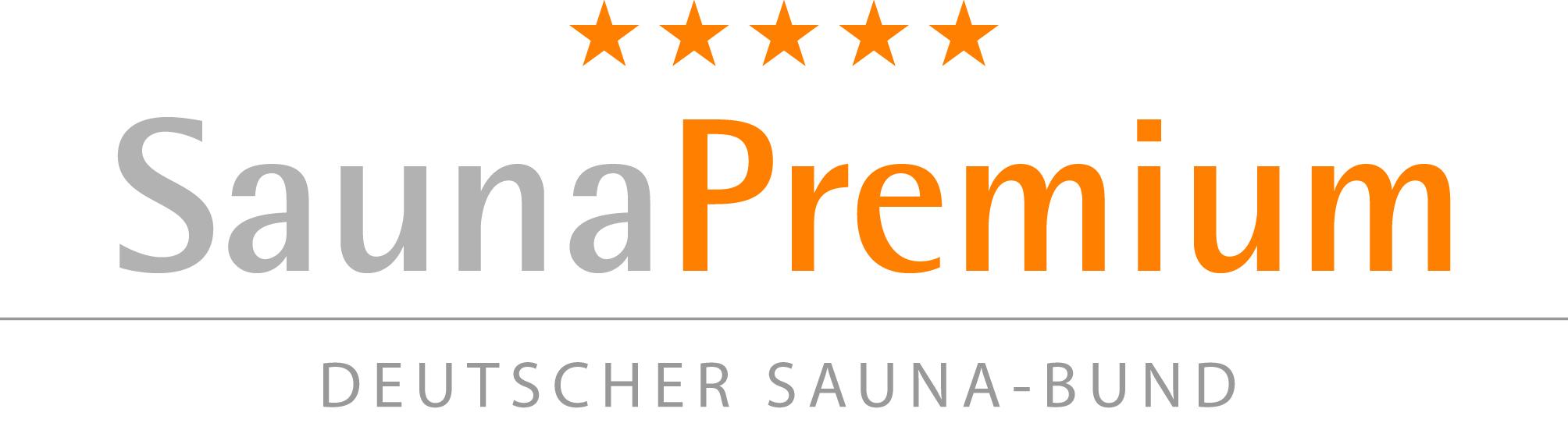 Logo Sauna Premium Siegel
